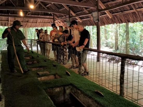 Cu Chi Tunnels - Vietnam Trip