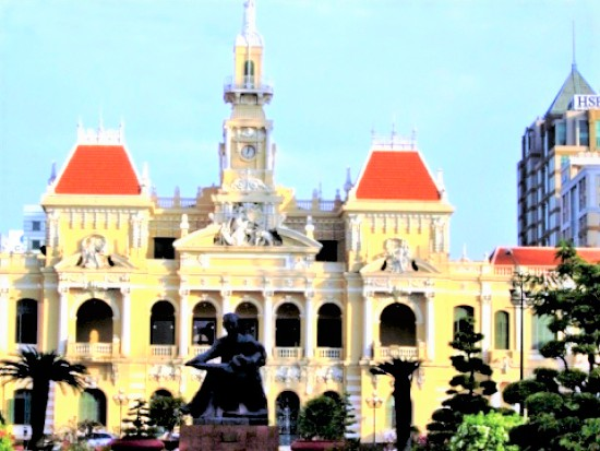 City Hall in Saigon