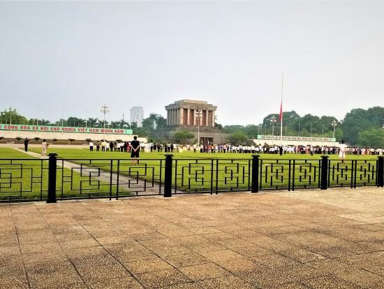 Ba Dinh Square in Hanoi