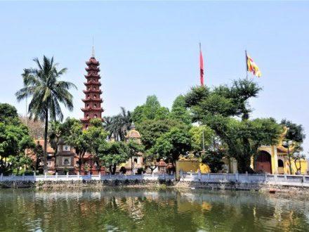 Hanoi Tour: Tran Quoc Pagoda