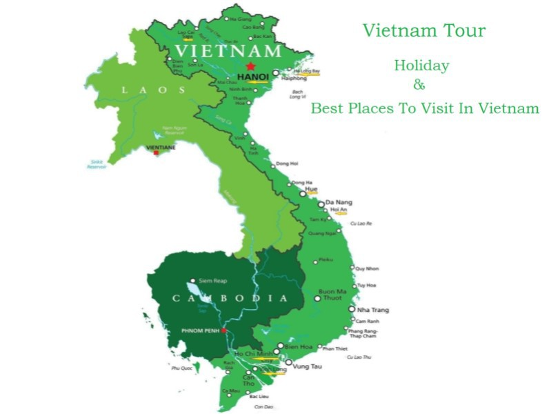 Vietnam Tour with the best places to visit
