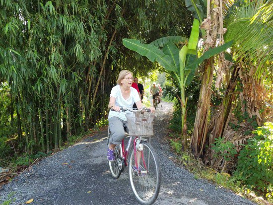 cycling in Mekong