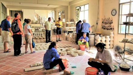 Vietnamese Ceramics: Touring Bat Trang with Lowell and friends
