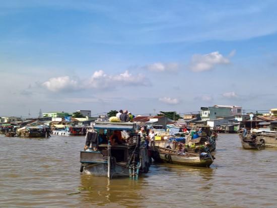 Floating Market - Mekong Trip