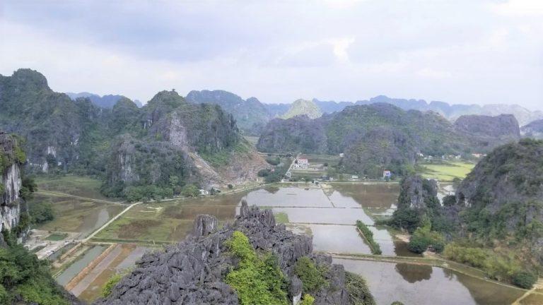 View from Mua mountaintop - Ninh Binh highlight